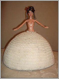 Frame skirt for the dress Barbie