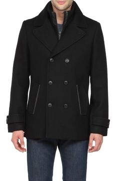 Soia Kyo Braydon F5 double-breasted wool coat
