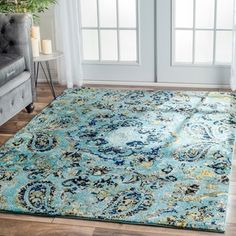 nuLOOM Modern Vintage Vintage Abstract Rug (5'3 x 7'9) | Overstock.com Shopping - The Best Deals on 5x8 - 6x9 Rugs