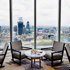 The View from Shangri-La's New London Hotel Shangr-La London at the Shard