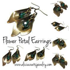 I have always had a love for jewelry. Earrings Handmade, Wax, Pendants, Coats, Drop Earrings, Christmas Ornaments, Holiday Decor, Jewelry, Jewellery Making