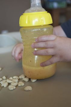 Toddler Fruit Smoothies, made a lot of these for a picky eater- call them milk shakes and they suck them down !