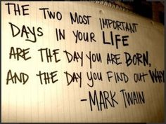 mark twain quote - Click image to find more hot Pinterest pins