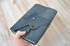 Lisbet / veľký kožený zápisník  z kolekcie