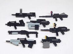 Coolest most realistic lego guns ive ever seen Lego Mecha, Bionicle Lego, Legos, Lego Bots, Construction Lego, Van Lego, Cuadros Star Wars, Lego Machines, Micro Lego