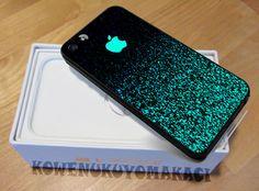 Apple Mint Sparkle for iPhone 5 iPhone 5S Case by KOWENUKUYOMAKACI, $14.50