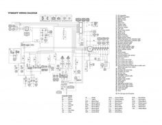 wiring diagram Yamaha Grizzly 660 YFM660FP