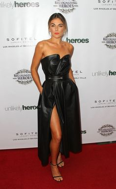 Actress Serinda Swan attends the 3rd Annual Unlikely Heroes Awards Dinner and Gala at Sofitel Hotel on November 8, 2014 in Los Angeles, California.