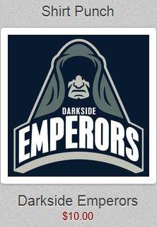 "Shirt Punch 04/03 ""Darkside Emperors"""