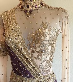 Worth for a princess Ice Dance Dresses, Latin Ballroom Dresses, Dance Outfits, Ballroom Dancing, Dance Costumes, Ballroom Costumes, Figure Skating Dresses, Beautiful Gowns, Costume Design