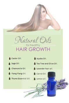 10 Natural Oils For Healthy Hair Growth Many women grossly underestimate the positive effects certai Coconut Oil Hair Growth, Coconut Oil Hair Mask, Lavender Oil For Hair, Thyme Essential Oil, Chamomile Oil, Healthy Hair Growth, One Hair, Living At Home, Hair Oil