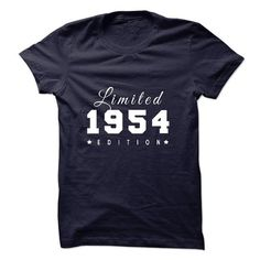 1954 T Shirts, Hoodies. Check price ==► https://www.sunfrog.com/Birth-Years/1954-Limited-Edition.html?41382 $27.99