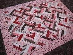 Jack's quilt? Only not in pink...