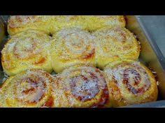 Como fazer pão doce rosca húngara deliciosa e muito fácil - YouTube My Recipes, Bread Recipes, Churros, Croissant, Sweet Bread, Healthy Options, Cupcakes, Bagel, Doughnut