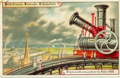 Postcards from 1900 Predicting What the Year 2000 Would Look Like:  The weather could be controlled by machines