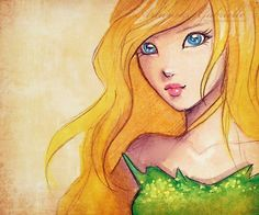 Tink Letting Her Hair Down by *gabbyd70 on deviantART