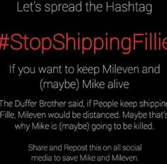 Omg plz stop shipping fillie plus the kids don't like it and I don't wanna lose Mike boiii Stranger Things Intro, Stranger Things Spoilers, Otp Prompts, Cute Romance, Home For Peculiar Children, Will Byers, You Have Been Warned, I Want To Cry, Rick Riordan Books