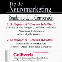 Roadmap de la Conversión. Tip de #Neuromarketing