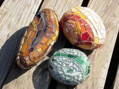 Fantastic mosaic rocks!