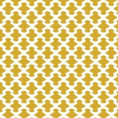 Camelot Cottons House Designer - Kate - Neat in Mustard