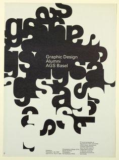 """garadinervi: """" Dan Friedman, Graphic Design Alumni AGS Basel, Philadelphia College of Art, December 1-29, 1967 """" Dan Friedman (taught graphic design at the Yale School of Art from 1969 to 1973)"""
