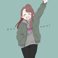 (Little Witch Academia) Little Witch Academia Diana, Little Wich Academia, Lwa Anime, Good Cartoons, Fate Stay Night Anime, Kirito, Manga Games, Portfolio, Jojo's Bizarre Adventure