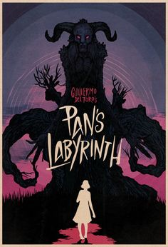 Pan's Labyrinth - Matthew Griffin. #horrordesign #panslabyrinth #poster