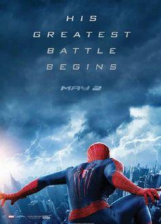 The Amazing Spiderman 2 ahhhhhhhhhhhh I CAN'T WAIT FOR THIS MOVIE EEEEEEEE!!!!