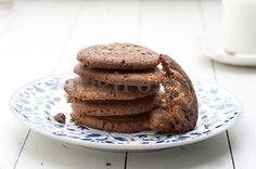 Τα ωραιότερα μπισκότα σοκολάτας (Το Πρωινό 9.05.14) Food Categories, Sweet Recipes, Biscuits, Pancakes, Muffins, Favorite Recipes, Sweets, Cookies, Breakfast