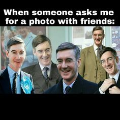 introvert squad funny meme - jacob rees-mogg is the best️ Jacob Rees Mogg, I Need Friends, Freedom Of Speech, When Someone, Introvert, Comedians, Thats Not My, Funny Memes, British