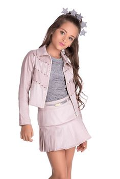 Outfits Juvenil – Page 1495065610 – Lady Dress Designs Young Fashion, Kids Fashion, Preteen Girls Fashion, Cute Girl Dresses, Cute Outfits For Kids, Kind Mode, Chic Outfits, Clothes, Girl Clothing
