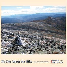 """""""After a few miles, the 'steep' starts. The trail resembles a stone stairway meandering up into the clouds [...]"""" Mount Washington, New Hampshire."""