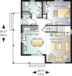 First level image of Featured House Plan: BHG - 1197