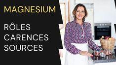 Magnésium : rôles, carences et sources alimentaires Magnesium, Long Sleeve, Women, Recipes, Long Dress Patterns, Woman
