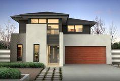 Clarendon Home Designs: Como 30 Contemporary Facade. Visit www.localbuilders.com.au/builders_victoria.htm to find your ideal home design in Victoria