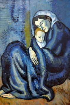 Pablo Picasso - Mother and Child, 1901