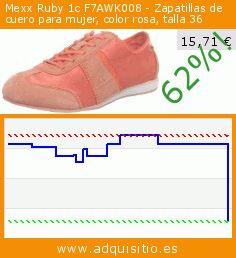 Mexx Ruby 1c F7AWK008 - Zapatillas de cuero para mujer, color rosa, talla 36 (Zapatos). Baja 62%! Precio actual 15,71 €, el precio anterior fue de 41,20 €. https://www.adquisitio.es/mexx/ruby-1c-f7awk008-13