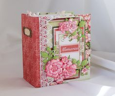 "Heartfelt Creations Arianna Blooms Paper Collection Mini Album ""Memories"""