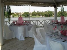 The Harbour Terrace at Stonehaven with a perfect view of the Vaal River, ideal as a Function, Wedding, Party, Business or Conference Venue Conference, Terrace, River, Table Decorations, Business, Party, Wedding, Furniture, Home Decor