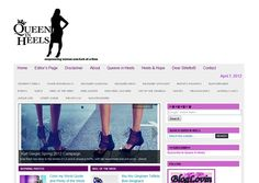 http://www.queeninheels.com  All about EMPOWERING women while APPRECIATING a pair of GORGEOUS high heels. It is all about being FABULOUS, FIERCE, FEARLESS, FUN, FASHIONABLE, and FLIRTY. It is about MAKING your DREAMS a REALITY and LIVING them out loud.