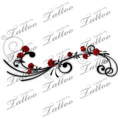 Pictures of Vines with Roses | ... be a vine side-tattoo-gothic-vine tattoos rose the about think about I