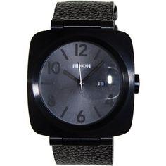 Nixon Men's Volta A117288 Black Polyurethane Analog Quartz Watch