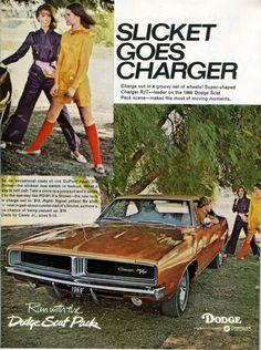 Dodge Charger ad