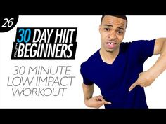 30 Min. Low Impact Cardio HIIT Workout for Beginners | Beginner HIIT #26 - YouTube