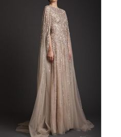 2017 krikor jabotian Prom Dresses with Cape High Neck Champagne Lace  Appliques Vintage Satin Long Party Dress Formal Evening Gowns e8018b25c