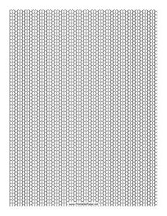 This 2-1 Seed Bead Peyote Pattern beadwork layout graph paper features seed beads in an alternating two-row and single-row peyote pattern. Free to download and print: