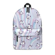 FRINGOO Unisex Boys Girls Backpack School Rucksack Fully Printed Cabin  Luggage Travel Gym (H42 x 3d05032f05aa1