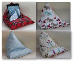 iPad/ tablet beanbags - no hands support for your device.