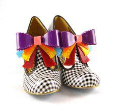 IRREGULAR CHOICE-- love love love!  they're like wonderland shoes!