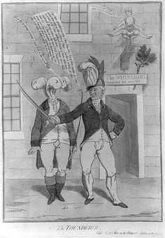 The Thunderer,Banastre Tarleton,Prince of Wales,The Whirligig,1782,James Gillray